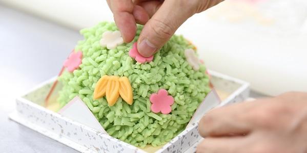 おめでたいお菓子『蓬莱山』